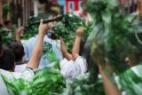 School parade, San Cristóbal de las Casas