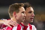 Tim Matavz and Mark van Bommel