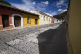 Colorful UNESCO Antigua streets