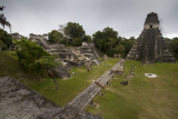 The main plaza with Tikal Temple I