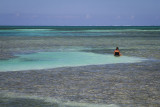 Sitting in the Caribbean Sea, Belize