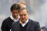 Coach Advocaat and assistent Faber