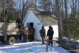 Loading the Ice House
