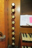 St Andrew Church, Cranford - Trustam Organ - Lefthand Stops