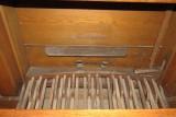 St Andrew Church, Cranford - Trustam Organ - Foot Pedals