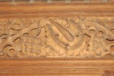 St Andrew Church, Cranford - Carving