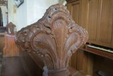 St Andrew Church, Cranford - Carved Pew