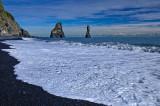 Sea cliffs in Vik