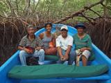 July 2012 - In a boat somewhere in Senegal