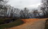 Grey skies at Violettes Lock