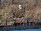 April 7th - Besides the river at Harpers Ferry