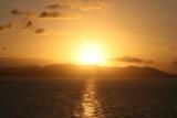 Sunset over Tortola
