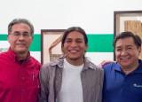 Dr. Don Pepion, Ben Shendo, and Senator Shendo