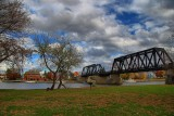 Mohawk River Bridge in HDROctober 30, 2012