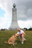 Glinda and Mom at Mt. Greylock