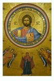 Cristo Pancreatore e la Madonna Orante