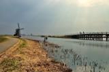 Vissers op de brug