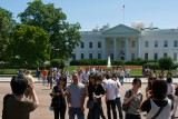 Tourists at the White House