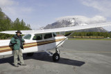 Seward, after the flight