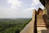 Sigiriya, coming down