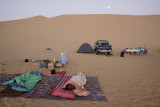 Akakus, early morning at night camp