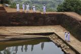 Sigiriya, the fourth terrace
