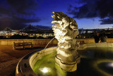 Fountain in front of the Necessidades Palace