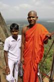 Sigiriya, arriving to the fourth terrace