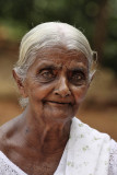 Sigiriya, pilgrim on the third terrace