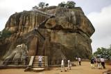 Sigirya, the rock of the fourth terrace