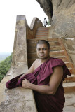 Sigirya, on the steeps to the third terrace