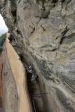 Sigirya, the path to the third terrace