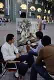 Tashkent, street painter