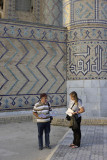 Samarkand, near Bibi-Khanym Mosque