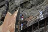Sigirya, the way up to the Damsels