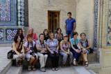 My group at Shah-I-Zinda, Samarkand