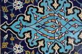 Samarkand, tile detail at Shah-I-Zinda