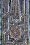 Samarkand, tile work at Shah-I-Zinda
