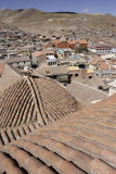 Potosí, view from the top of San Francisco Church and Monastery