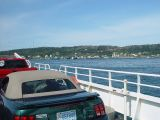 THIS WAS ONE OF THE TWO FERRIES USED TO GET TO THE WHALE WATCH AT BRIER'S ISLAND