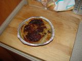 THIS WAS RAPPIE'S PIE MADE IN THE RV BY DON.....GOSH IT WAS GREAT  TRY IT