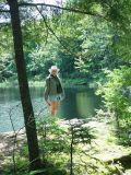 SARA AT KEJIMKUJIK PARK-MY FAVORITE PICTURE-WHAT A BEAUTIFUL GAL