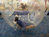 A Girl In A Ball On The Water 1