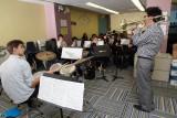 NEST+m Music Visit from Robert Bennett Jazz Trombone 2012-10-18