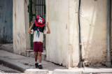 A Little Fun on the Way to School Havana, Cuba - May 2012