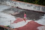 Rooftop Dancer Havana, Cuba - May 2012