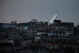 Evening Flight Havana, Cuba - May 2012