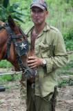 A Man and His Horse Cuba - May, 2012