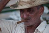 A Man, His Hat and Cigar Cuba - May, 2012