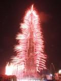 New Year 2013 Fireworks, Burj Khalifa, Dubai